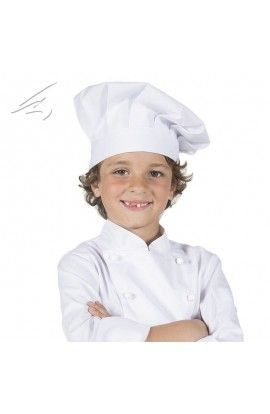 Gorro de CHEF infantil color blanco - Garys