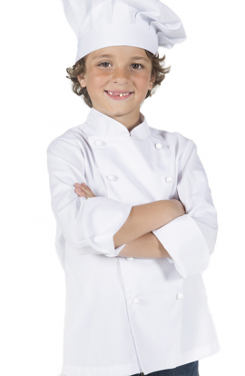Chaqueta de CHEF infantil color blanco - Garys