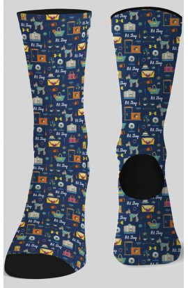 Calcetines unisex estampados PET SHOP - Garys